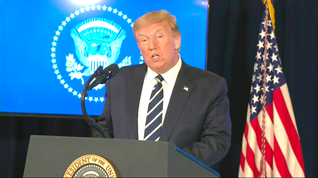 Pres Trump says if no agreement reached on a relief bill, hell take executive action including: -defer payroll taxes to end of the year -extend enhanced unemployment benefits to years end -extend moratorium on evictions -defer student loan payments and interest indefinitely.