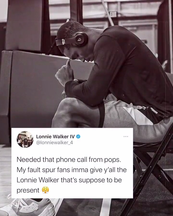 """""""I wasn't myself the last two games. I know my capabilities. Everything will follow its course.""""  @lonniewalker_4 