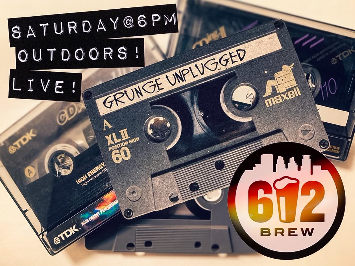LIVE MUSIC on the patio, yup you heard that right! Join us Sat. the 8th at 6PM for some rock and roll on the patio w/ Grunge Unplugged. We have ample space for social distancing and are accepting walk-up reservations. Please see the host station for seating when you arrive. 🎶🍻 https://t.co/cJiRaYeRLT