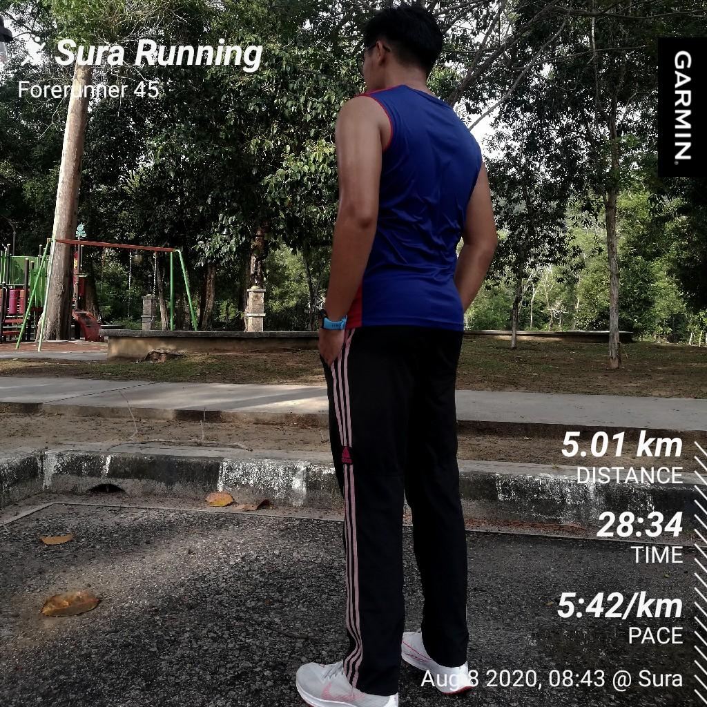 Finally, got my personal best of 5k! After 9weeks with easy running + MAF method. Sub30 ✅ #raceday #timetrial @Twt_Jogging credit @k_munir84 @_amirnazari https://t.co/LGKY3Qr2vl