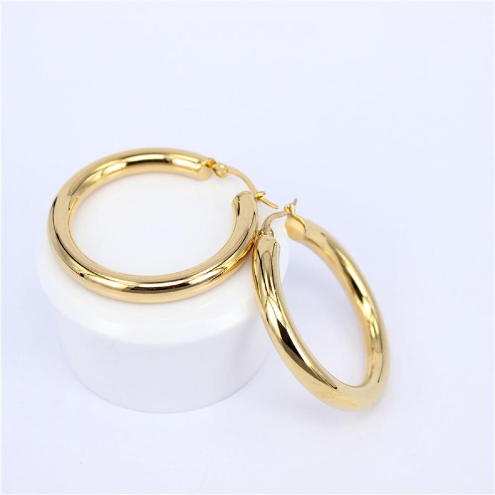 Stainless Steel Hoop Earrings #bling #glitter pic.twitter.com/CqMj359qPg