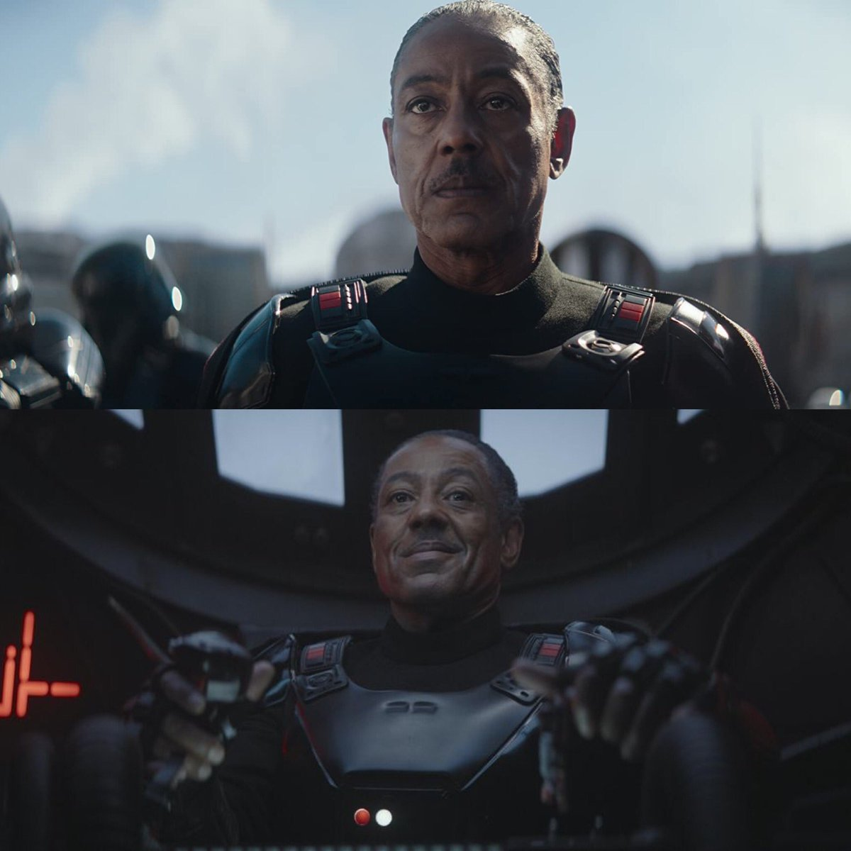 #FBF to playing the mysterious character of Moff Gideon in the first live-action Star Wars series #TheMandalorian. I love being able to play such a complex role. Who's getting excited for season 2?