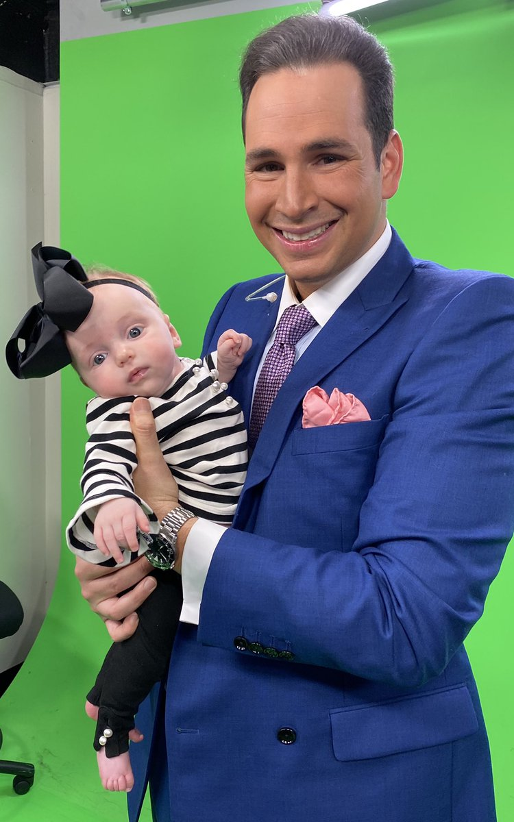 The end of an era at @wnkytv Thanks to everyone who made this journey possible. I can't wait to spend some serious downtime with the little one.