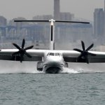 Image for the Tweet beginning: The world's largest floatplane that