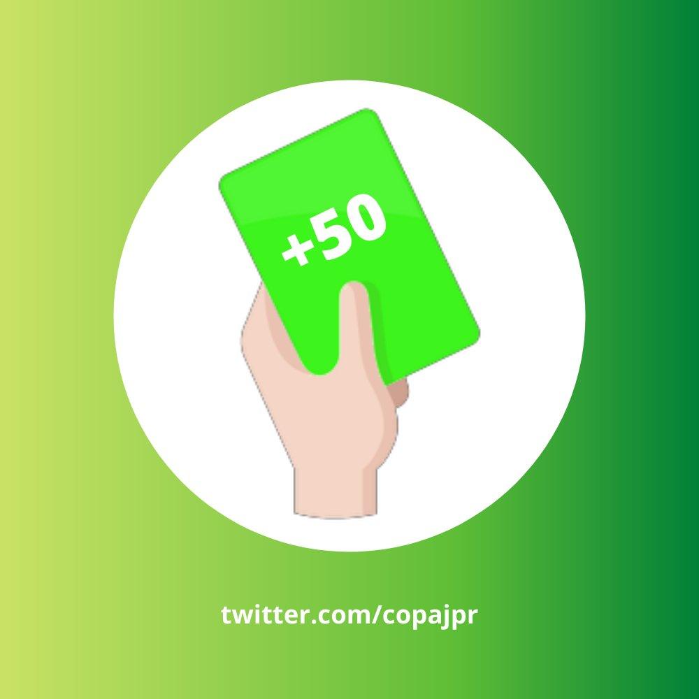 🐬| Não contentes com um cartão azul, Eventos chega aos 50 RTs em um post e ganha um cartão verde, com mais 50 pontos!  Link abaixo https://t.co/XRoKlNLrAz