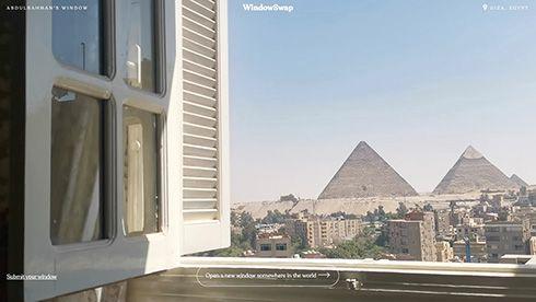 時々ネコもいます世界のどこかの窓からの景色 ネットで見られるサイト「WindowSwap」で巣ごもり生活に和み