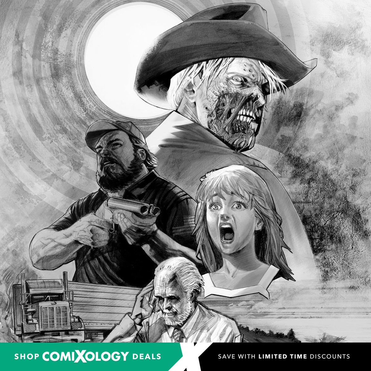 """50% Off Digital Comic Book Sale! @comixology is having their Small Press Mega Sale from August 7th to September 8! Read @CriticalEntLA #comicbooks by going to http://comixology.com and searching """"Critical Entertainment"""" or any of our titles.   #comicbook #sale #digitalcomics pic.twitter.com/EPpDgWniUg"""