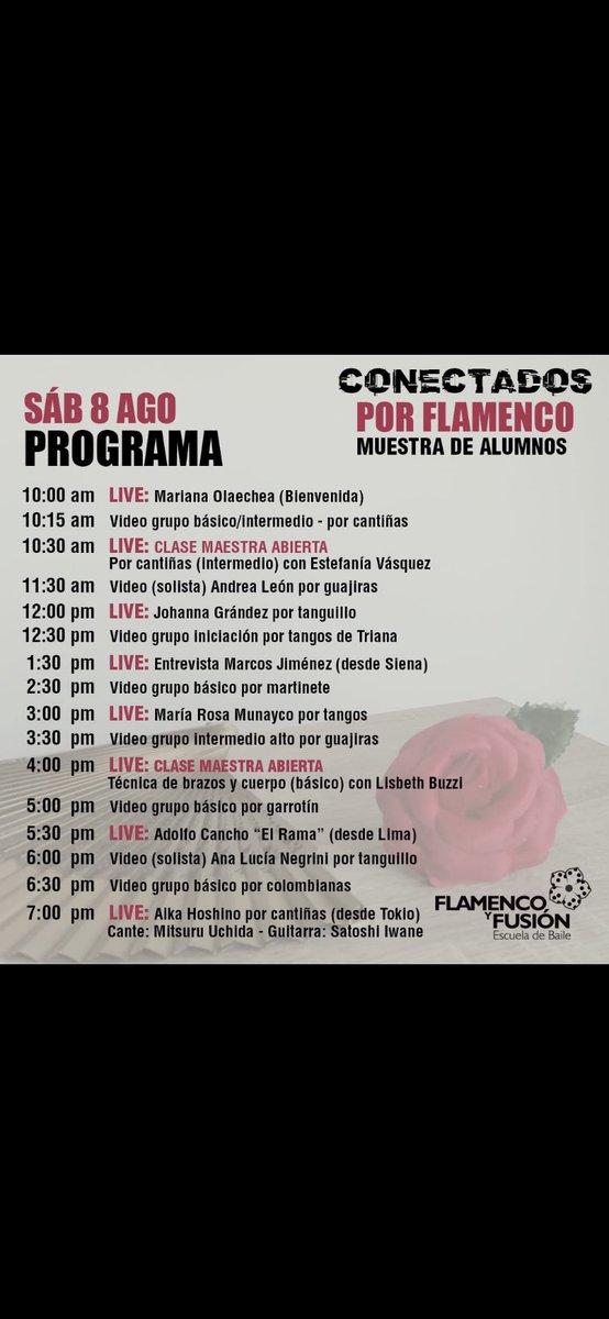 Showtime August 8 @ 12:30 pm #conectadosporflamenco #flamencoyfusion #DanceLife #MyJourneypic.twitter.com/y17J8xsLfO