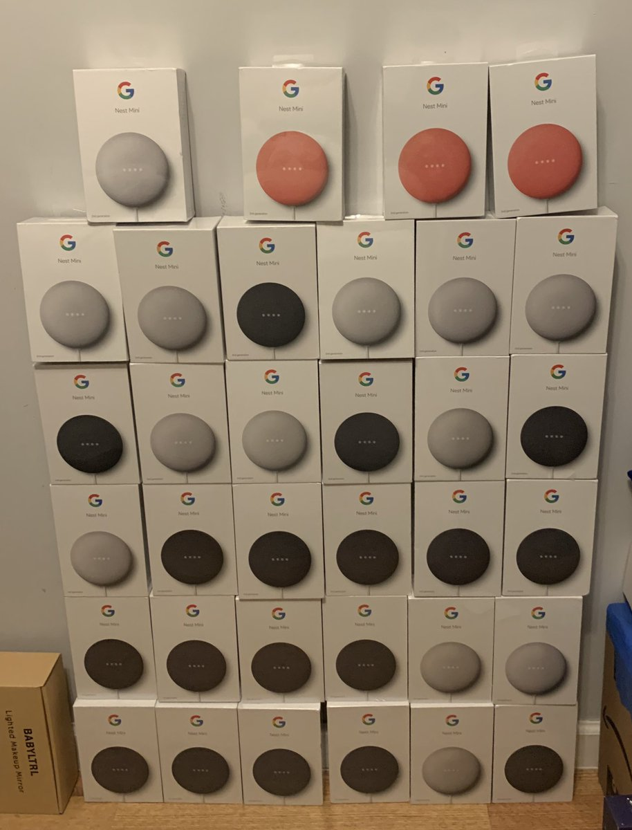 July was a pretty good month. 3 accounts (selling limits since my account was new). A bunch of google nest minis and a lot of profit on eBay. Thank you @LoungeProfit pic.twitter.com/N9SeifmXHi