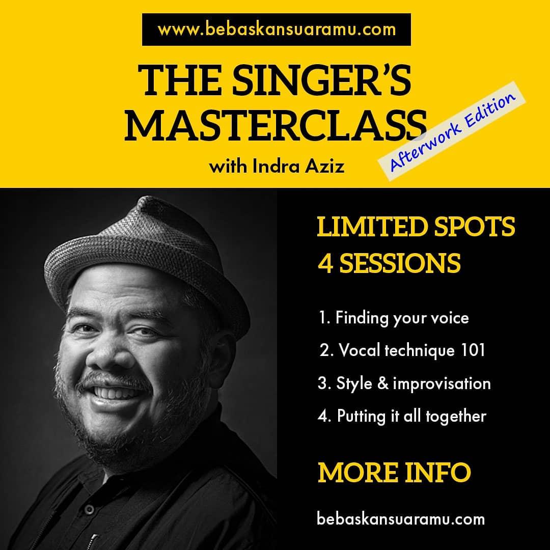 The Singer's Masterclass (afterwork edition), infonya bisa dibaca di https://t.co/LN9xm1qtRU https://t.co/kQIEUb8Fal