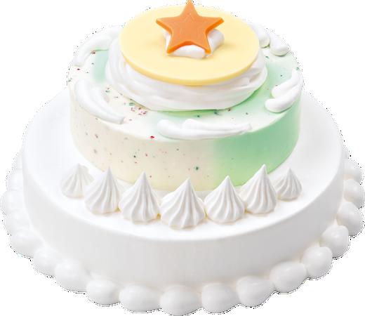 【パチパチ】サーティワン「ポッピングシャワー」が主役のアイスケーキ登場!ステージを外すと、4色のポップロックキャンディが入っているという楽しい仕掛けも。8日から数量限定で発売。