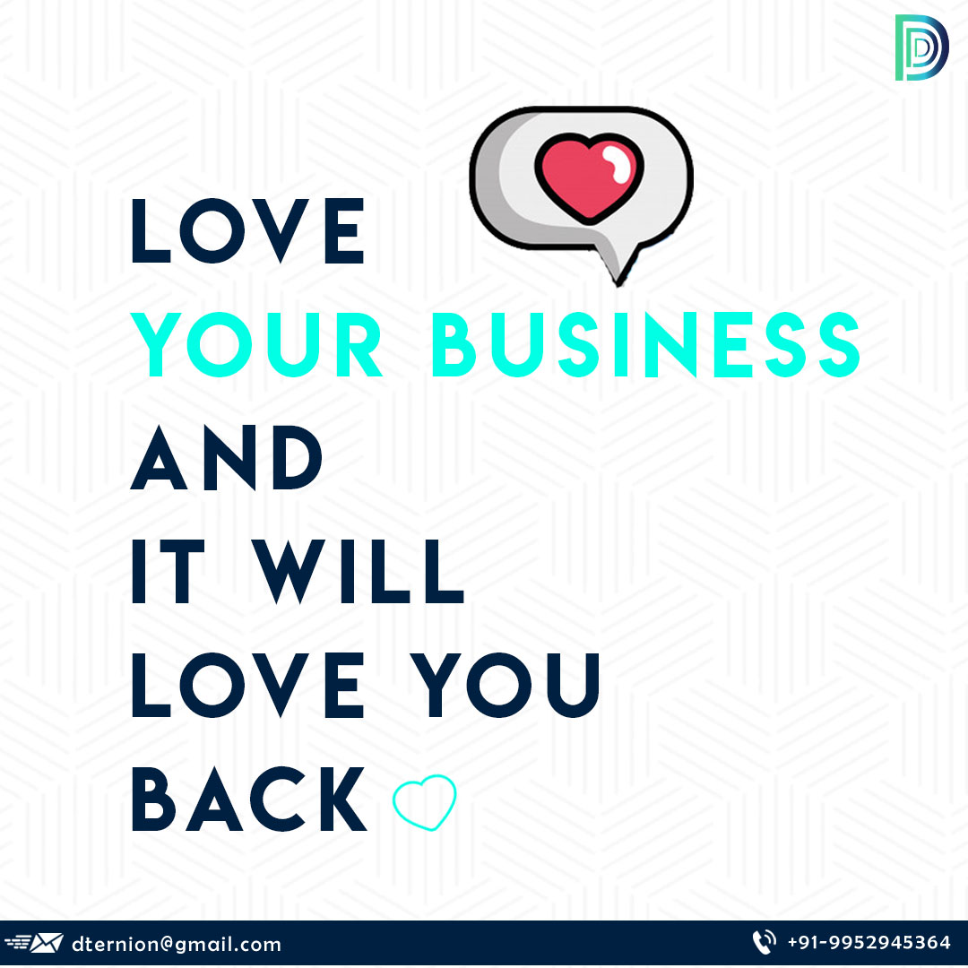 Your heart should always be where your business is. Love it and see magic happen #businessquotes #motivation #motivationalsaturdays #saturdaythought #businesslife #ceolife #startup #entreprenuers #business #marketing #branding #Saturdaythoughts #digital #design #develop #dternionpic.twitter.com/27OWXFZEJQ