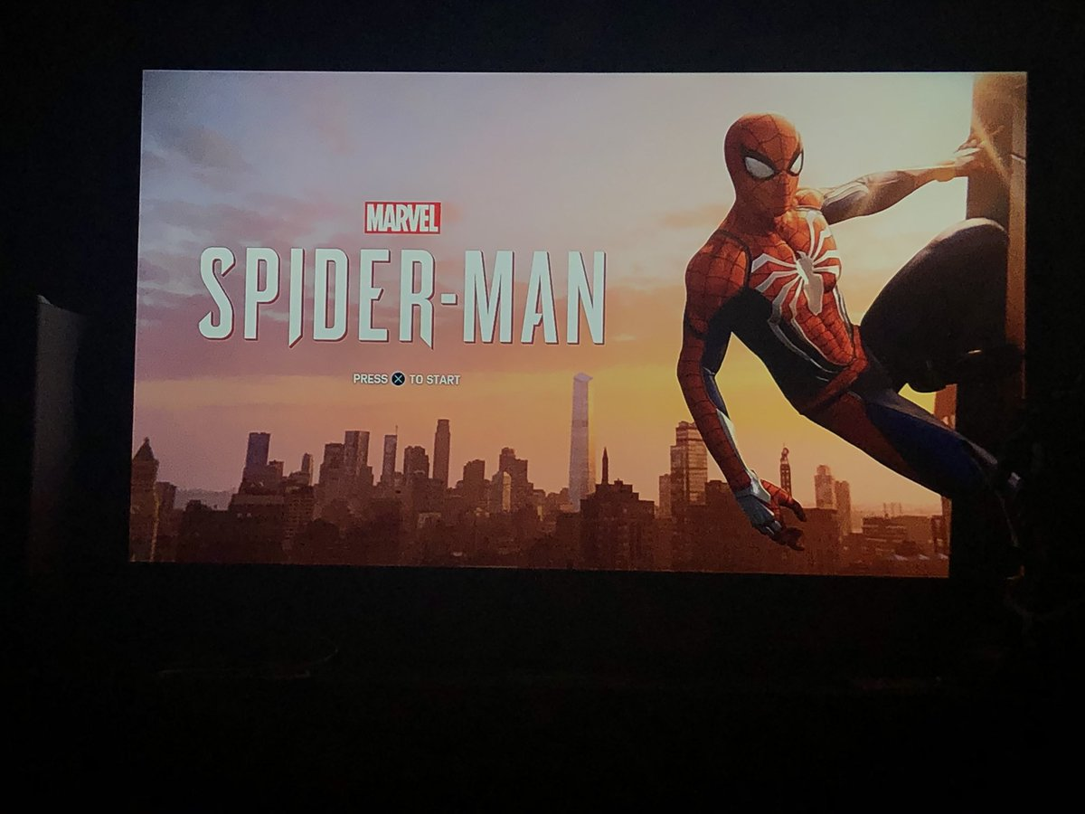 How my nights will be spent for the next 2 weeks #SpiderManDay #SpiderManPS4 #insomniac https://t.co/bUGgsmdMCo