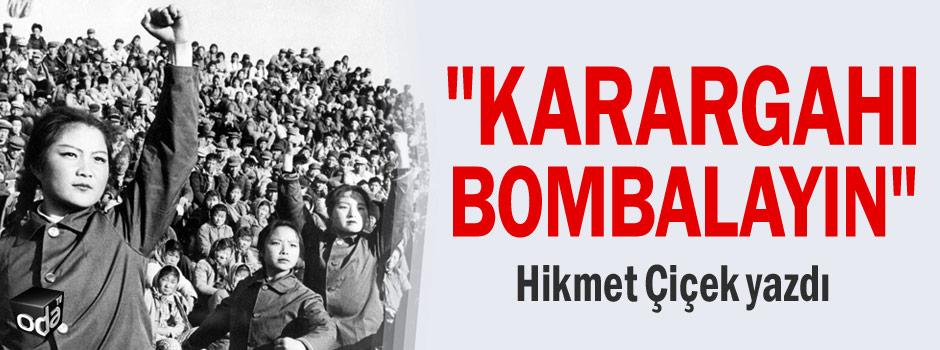 """""""Karargahı bombalayın""""  Hikmet Çiçek yazdı https://t.co/UO76zWjcwT https://t.co/oQX6SRkcKE"""