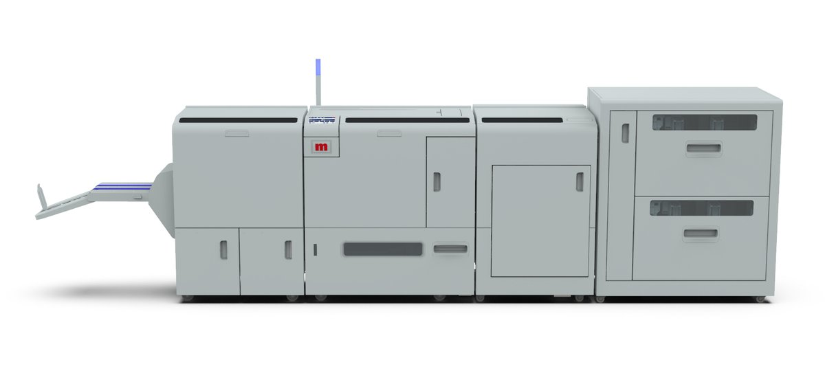 #Print & #Digitalprint News: With an increasing number of printing systems available to handle larger cut-sheet sizes, A4 landscape and oversize booklets can now be produced easily and cost-effectively with the new BM5000 from Morgana Systems, https://bit.ly/2ZJMPJF pic.twitter.com/TeQQkb6JB3
