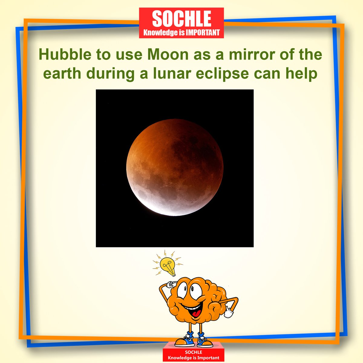 This was the first of its kind event that astronomers were able to capture a total lunar eclipse that was captured at ultraviolet wavelengths and a... Read More:https://facebook.com/TheSochle/ #Science #Scientist #Astronauts #Hubble #NASA #ISRO #technology #Thesochle #Students #knowledgepic.twitter.com/uAj1toK2Q3