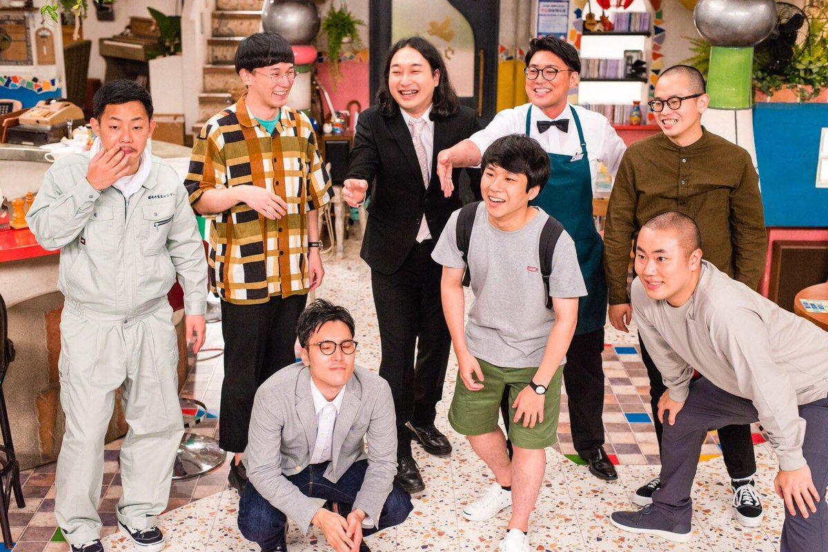 今夜!!コント番組『東京BABYBOYS9』#2深夜0時35分~テレビ朝日今回はゲストでchelmicoさんも出演!まだ#1を観てない方はabemaとTVerで!abema未収録コント1本を加えた完全版30分のドキュメンタリーもTVer#東京BABYBOYS9#加賀君撮影