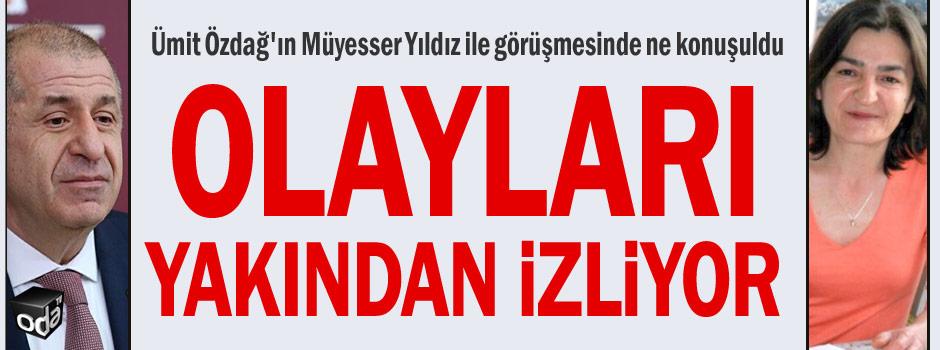 Ümit Özdağ'ın Müyesser Yıldız ile görüşmesinde ne konuşuldu https://t.co/cxFg6sSjZm https://t.co/6YC4UmWU47