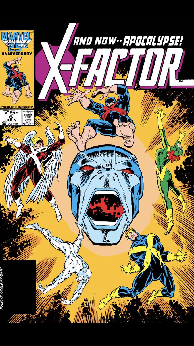 #comicbeforebed X-Factor No. 6, July, 1986. Scott is jealous, Apocalypse strikes, and Jean manifests the Phoenix? #XFactor #MarvelComics #MarvelUnlimited #digitalcomics @Marvel @MarvelUnlimitedpic.twitter.com/JsBWU77ybn