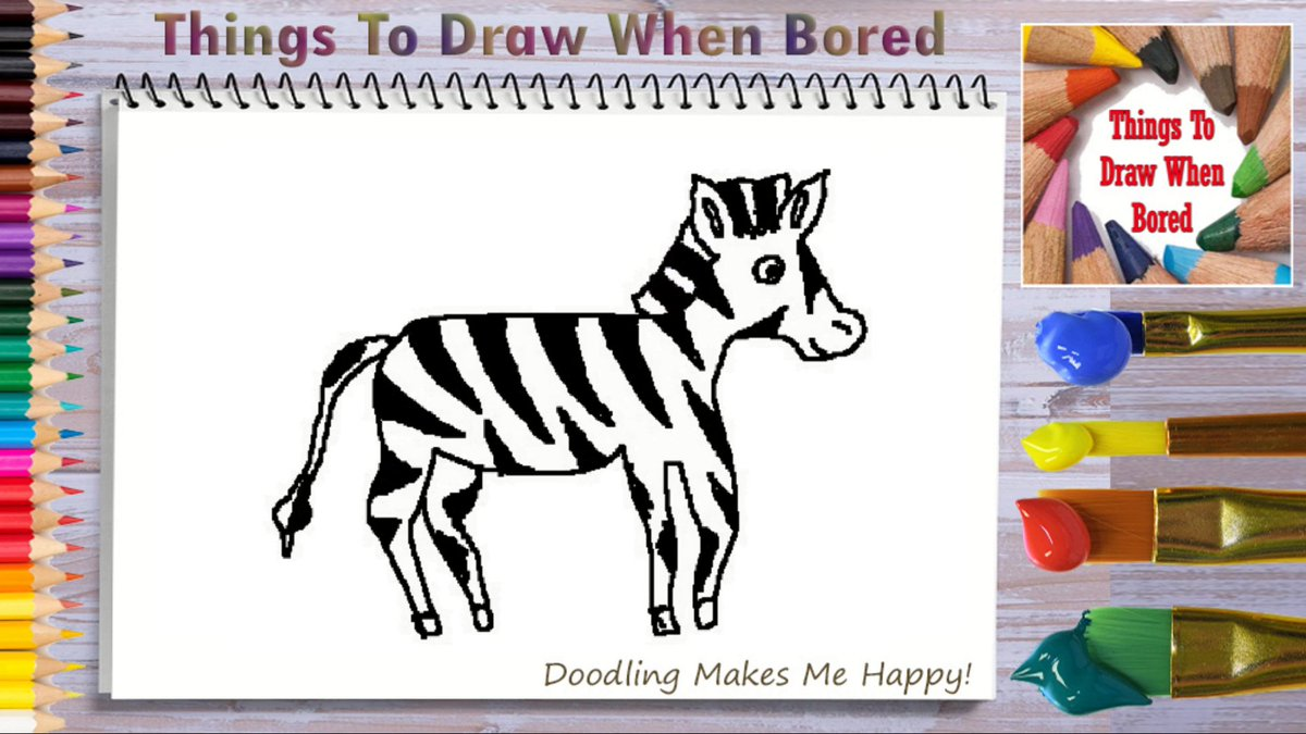How To Draw A Zebra ( Things To Draw When Bored - A Zebra )  *** PLEASE: Share This Link!  *** https://youtu.be/hXkFj-CZ3G8  #zebras #zebra #wildlife #africa #wildlifephotography #animals #howtodoodleart #thingstodraw #cartoon #drawingaday #drawingdaily #drawingeveryday #artofthedaypic.twitter.com/iN3QHxs4mg
