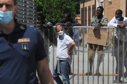 #coronavirus in #Veneto #Treviso  Caserma Serena: ...