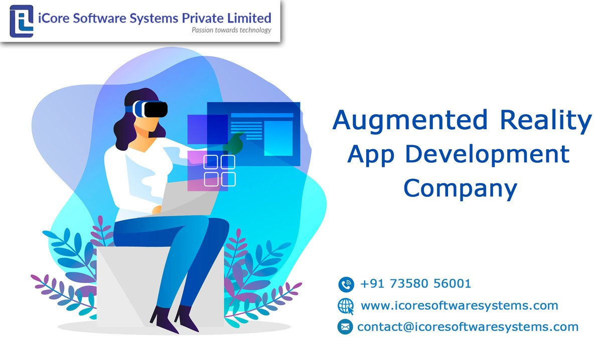 iCore Software Systems Private Limited is a leading Augmented reality app development company in India and the USA. Get AR Application services for mobile by our best AR app developers.  For More Info: https://bit.ly/3fcUipk   #augmentedreality #ar #virtualreality #mixedrealitypic.twitter.com/H4d9zfdv5A