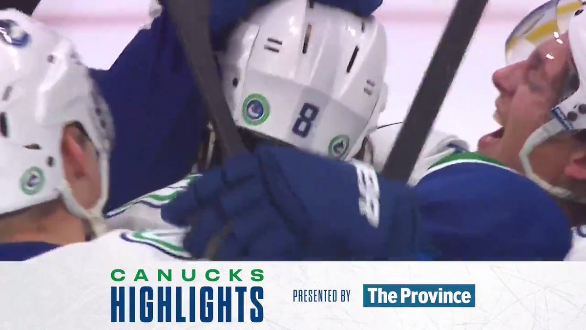 Well, that was fun. SO. MANY. HIGHLIGHTS. 🚨🚨🚨🚨🚨 @TheProvince Highlights | canucks.co/2qSj30r3iAm