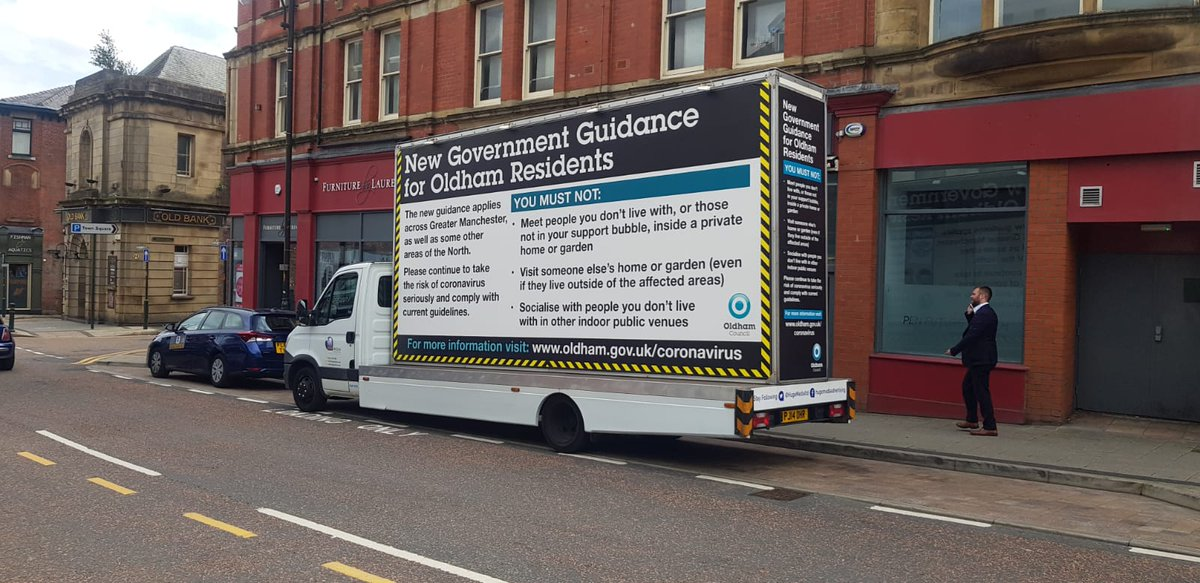 We're doing everything we can to spread the word that you all need to stay safe. So, this weekend you might see this van driving around the borough. If you do, take a picture and post it on your social media feeds to help us reach as many people as possible. pic.twitter.com/Jrxnxk9udY