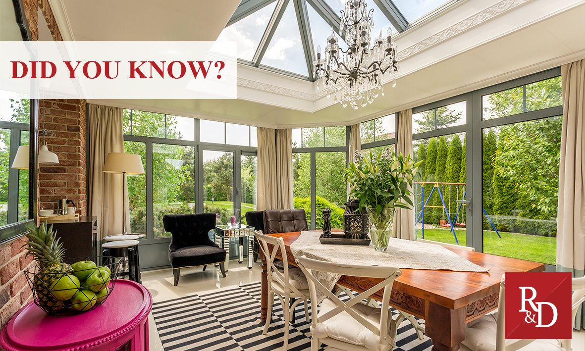 #DidYouKnow conservatories began to become social spaces in the home during the 19th century when homeowners wanted to show off their exotic plants? pic.twitter.com/Xsf9vOj9ca