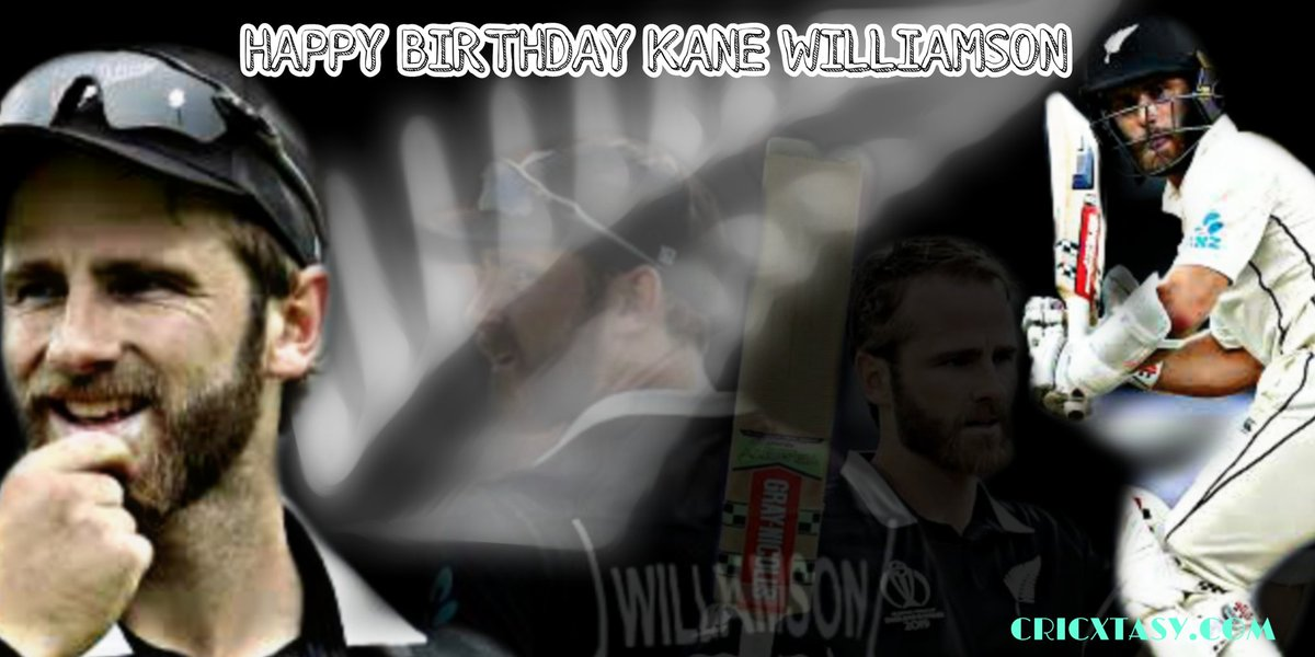 Happy Birthday, Kane Williamson #DidYouKnow, Kane Williamson was just 17 when he led the New Zealand Under-19 side in the World Cup in Malaysia in 2008.  #Cricketpic.twitter.com/FgnBXuFt4c