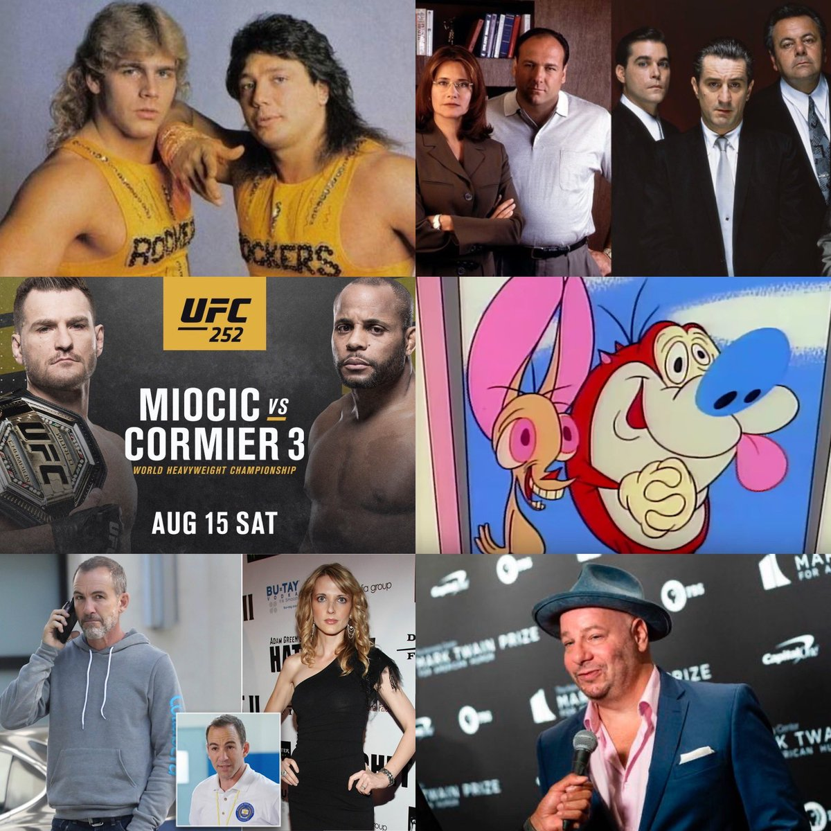 https://t.co/6KdKepn8w5 Click the link to watch the newest episode of Koffin Radio. We talk about Marty Jannetty's confession, the new show from the writers of goodfellas and sopranos, ufc 252, Ren And Stimpy reboot, Jeff Ross, and Bryan Callen. https://t.co/S8YFYxEV1u