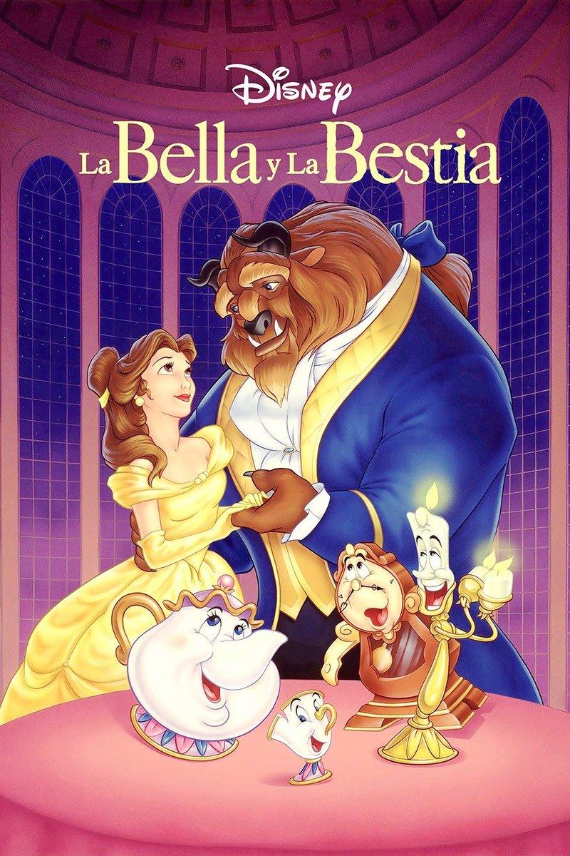 La bella y la bestia(Beauty and the Beast) es unapelícula infantildeanimaciónestadounidense. El estreno fue enEl Capitán Theatreel22 de noviembrede1991producida porWalt Disney Feature Animationy dirigida porGary TrousdaleyKirk Wise.pic.twitter.com/MpI2zJht9I