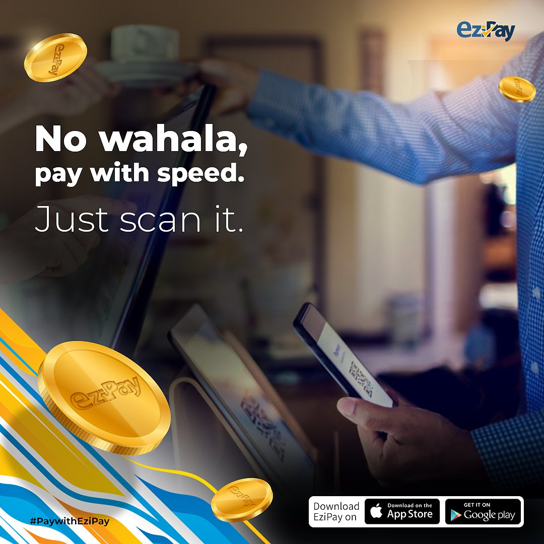 EziPay is more than a wallet ❗  Pay via QR Codes, Send and Receive money from Abroad, Buy Credit and Data, Pay bills and many more with EziPay 💯  Download EziPay here: https://t.co/X2Nfulyu9Y  #ezipay  #mobilewallet  #mobilemoney  #instantmoneytransfer  #paymentgateway https://t.co/8ANuW06AV9