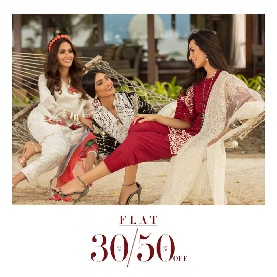 Flat 30% and 50% off on stitched and unstitched pieces! What are you waiting for? Get your monsoon season essentials before stock runs out! Visit Sana safinaz outlet located at the First Floor. #gigamall #gigagroup #shoppingmall #shopping #SanaSafinaz #SanaSafinazSale #WTCPAKpic.twitter.com/W5KtooVsE0