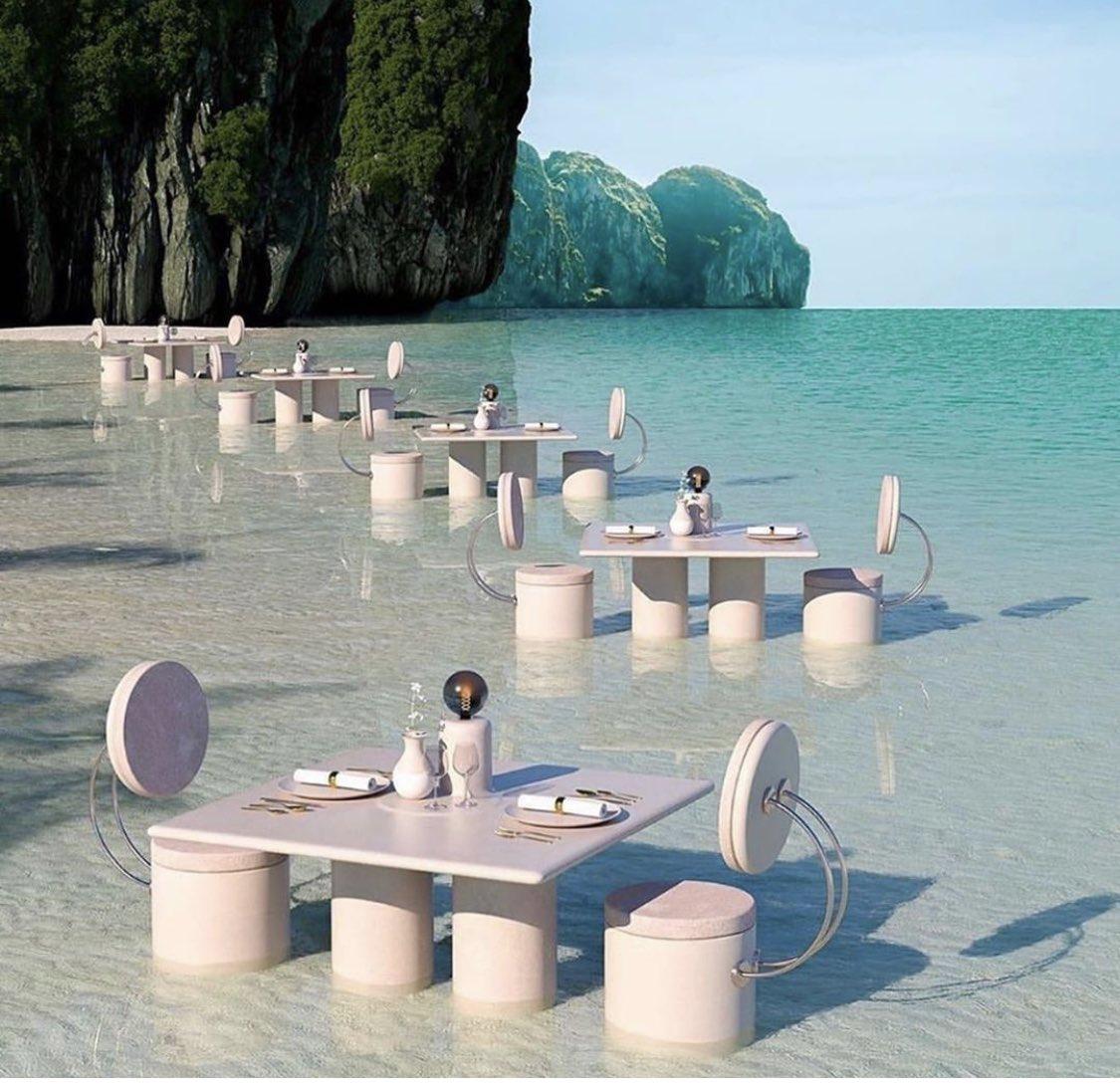 Table for 2 please   #صباح_الخير pic.twitter.com/v0KzfIwqYf