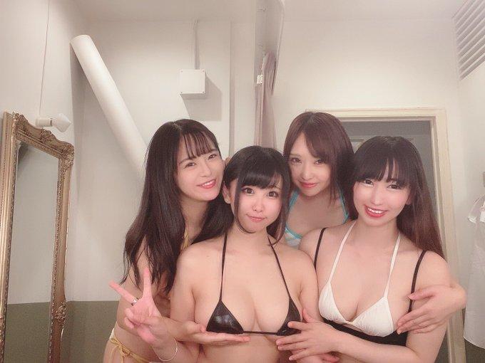 グラビアアイドル真田りなのTwitter自撮りエロ画像5