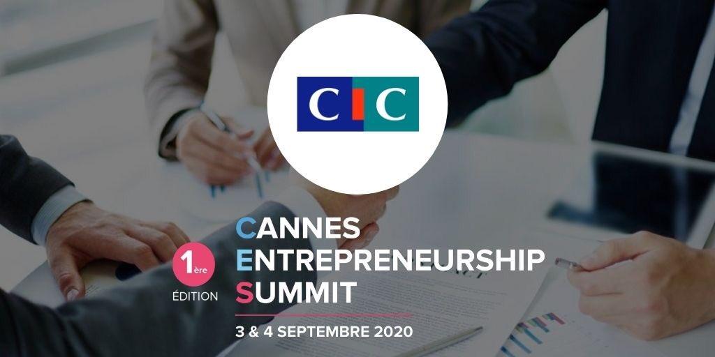 Le @cic est #Sponsor de l'événement #CES2020 et nous les en remercions. #CannesEntrepreneurshipSummit c'est 2 journées exceptionnelles de rencontres avec des personnes influentes pour vous conseiller et vous soutenir dans vos projets 💪  Plus d'infos ici 👉https://t.co/1T8TSOiswU https://t.co/Ro58doPuje