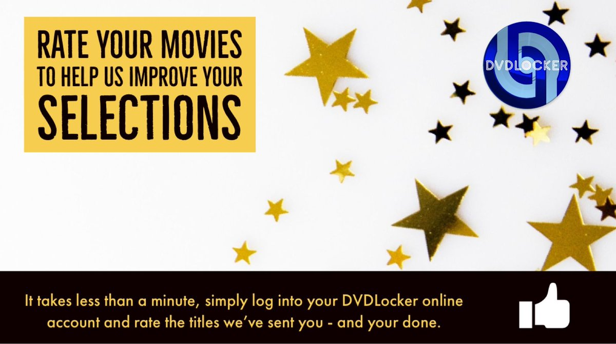 Don't #forget to #rate your #movies - to #improve your #future movie #selections it takes just a few minutes from your #online #account why not rate today?  #SaturdayMorning #SaturdayMood #saturday #movietwit #SubscribeToSeeMorepic.twitter.com/5Qf7E9CCDV