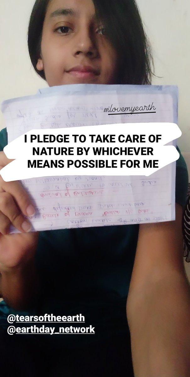 @toeorganization @EarthDayNetwork @earthdaynetworkindia #greatglobalcleanup #ilovemyearth