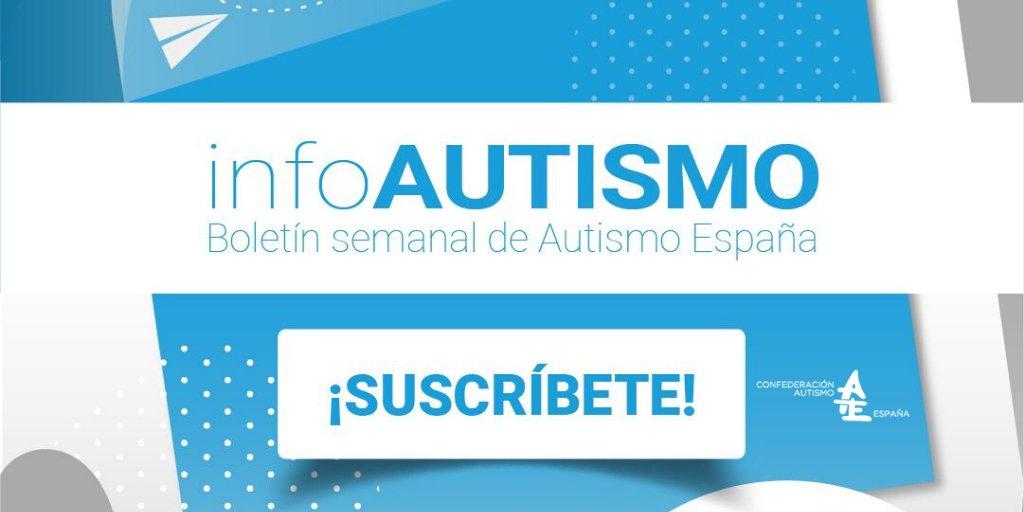 Recibe nuestro boletín #infoAutismo, la referencia informativa sobre el #TEA cada martes en tu bandeja de entrada. 👉 Haz click en este enlace https://t.co/PthdpRPdlI y ¡SUSCRÍBETE AHORA! https://t.co/uZ7YzQWip4