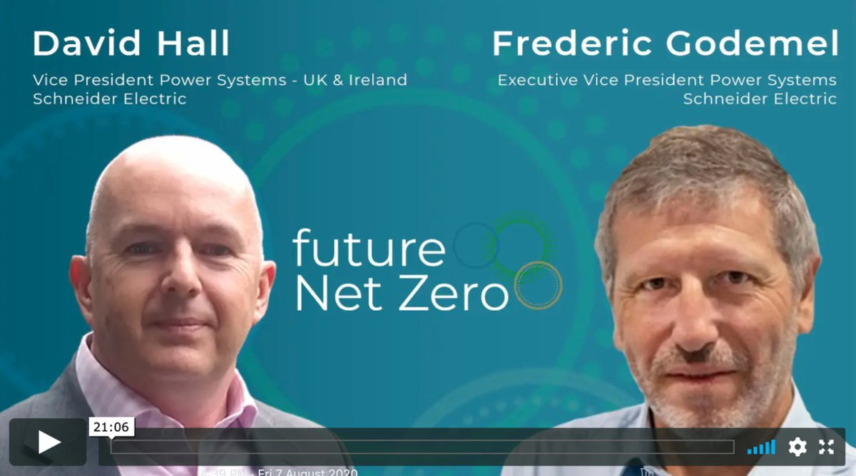 Excellent #SF6free discussion, showing why new pioneering #air and #vacuum MV switchgear technology is needed today to help achieve #NetZero2050 - via @EnergyLiveNews: https://bit.ly/31nleNZ  with @FredericGodemel @David_Hall_SE #SchneiderElectric  @SchneiderUKpic.twitter.com/YJSLy9mipl