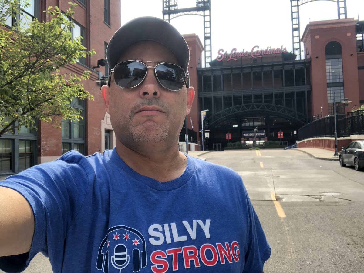 Wishing my good buddy @WaddleandSilvy well outside his fav stadium. Feel better! https://t.co/gxxT3LNCc6