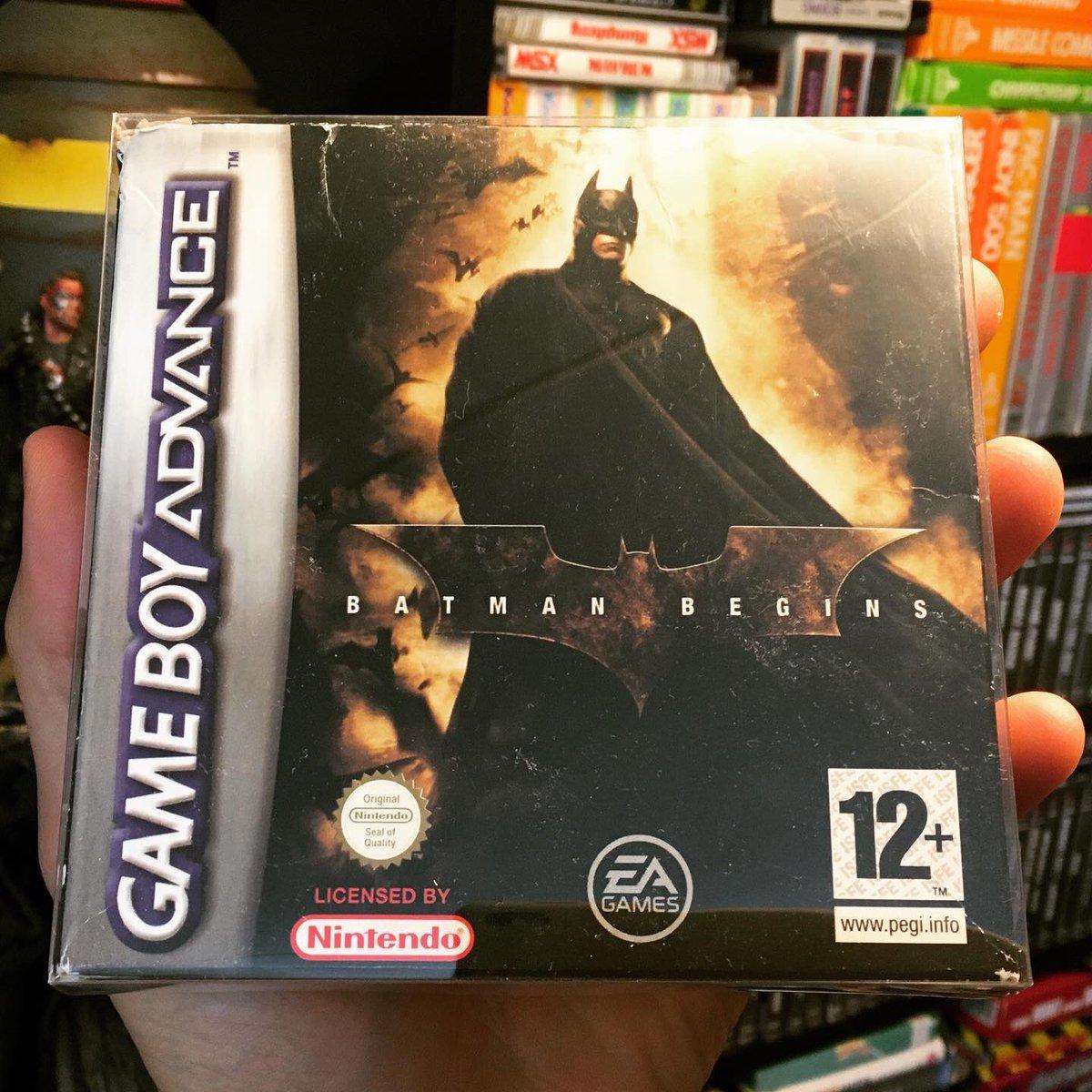 Batman Begins - Vicarious Visions - GBA Platform Stealth Action Game - 2005 #retrogaming #retrogames #retrogamer #platformgame #gamer #gaming #batmanbegins #vicariusvisions #popculture #nintendogames #gba #gameboyadvance #gameroom   #consolegames #nintendo #videogamespic.twitter.com/jLsqAtKNmM