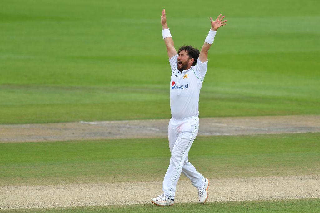 Yasir Shah- England vs Pakistan First test at Emirates Old Trafford