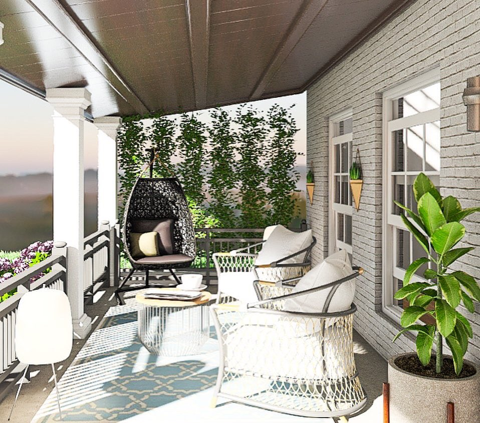 Raise your hand if you need a front porch like this #shareblackspaces  #edesign #edesigner #virtualdesign #burbhomelove #3d #rendering #rendering3d #renderingservices #lovelydecorhomes #outdoors #modernoutdoorspic.twitter.com/Ks5KPcfN9Z