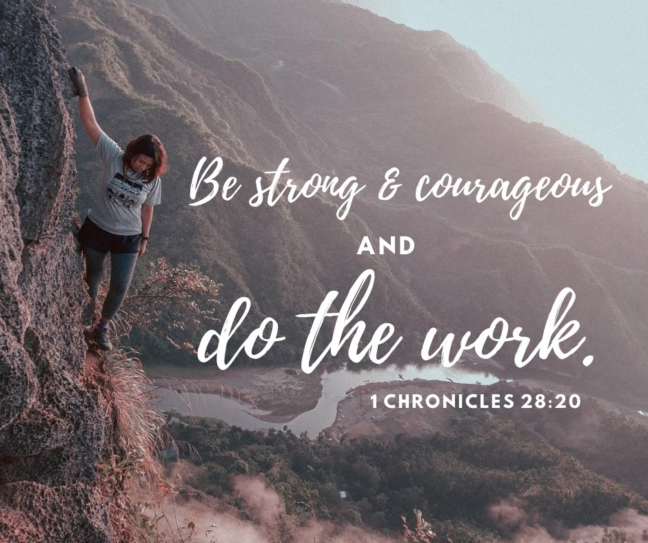 So many of us are facing some difficult challenges this year. This is a great reminder to keep working and never give up! #keepgoing #youcandothis #bestrong #saturdayscripture #seriouslysisterhood #seriously2020pic.twitter.com/0w5bG7WPAz