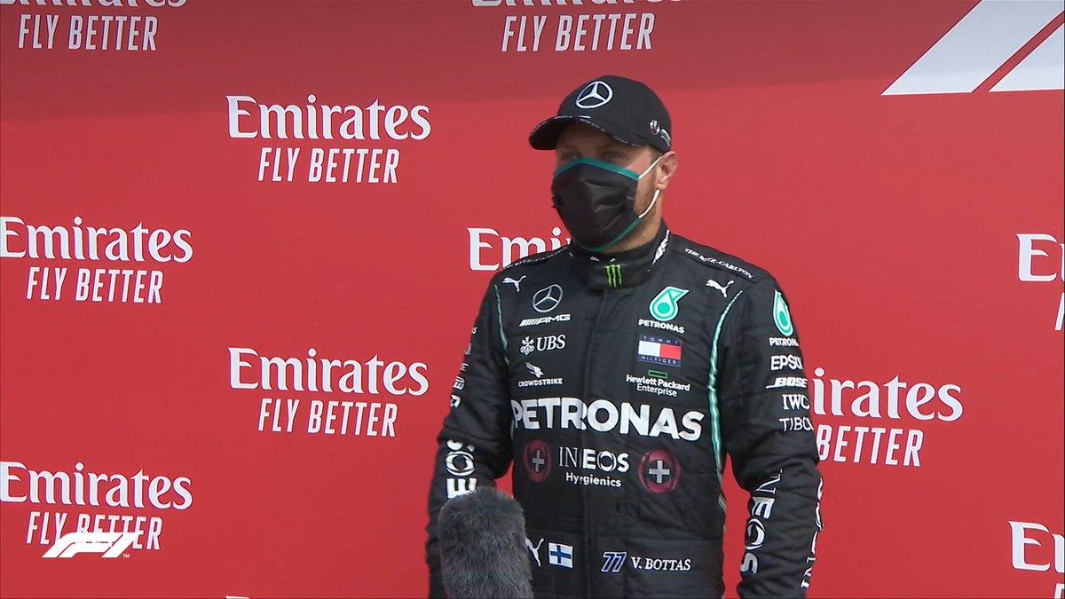 Valtteri Bottas signe sa 2e pôle position de la saison devant son coéquipier Lewis Hamilton et Nico Hulkenberg.  #F170🇬🇧 https://t.co/QeSWvnkjCI