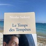 Image for the Tweet beginning: Quand @NicolasSarkozy t'accompagne au bord