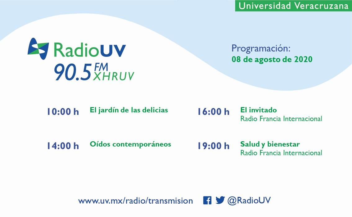 La #ProgramaciónRadioUV de hoy incluye programas de Radio Francia Internacional, ¿te los vas a perder?  📻 90.5 FM 📲 App Radio UV 💻 https://t.co/WfczY0S4Qx https://t.co/sDFc1eHTfy