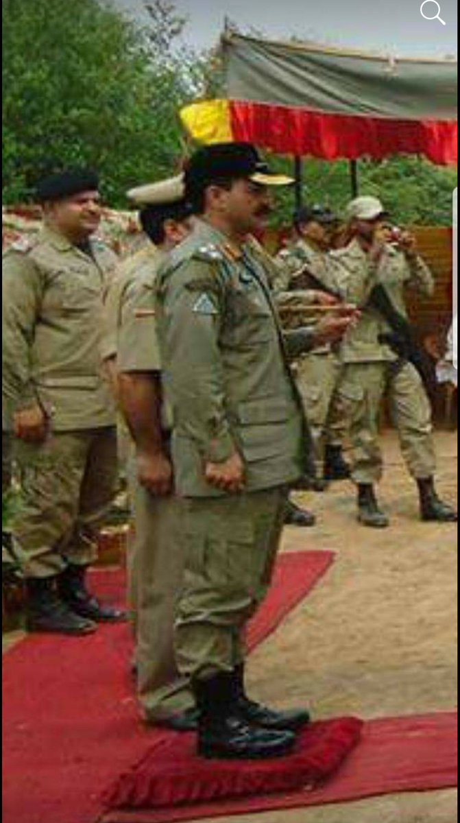 A guard of honour presented to me by Indian BSF while i was commander Chenab Rangers along Working Boundary. #Pakistan #PakistanArmy